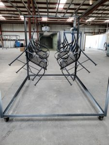 Patio Chairs/ Powder Coating