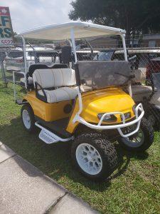 Golf Cart/ powder coating